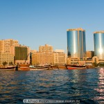 Dubai Waterfront and Twin Towers