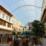 Mercato shopping mall interior