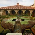 В градината на манастира